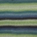 DROPS Delight Print roheline/sinine 16
