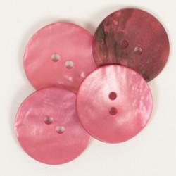 DROPS nööp Ümar (punane) 20 mm