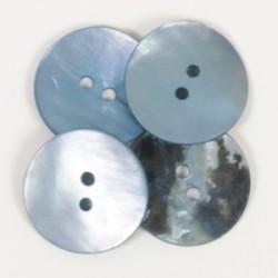 DROPS nööp Ümar (sinine) 20 mm