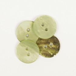DROPS nööp Ümar (roheline) 15 mm