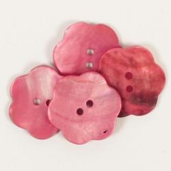 DROPS nööp Lill (punane) 25 mm
