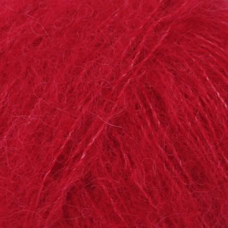 DROPS Brushed Alpaca Silk punane 07
