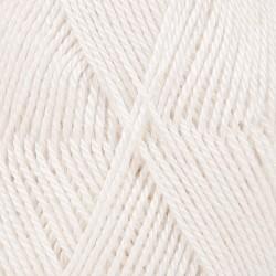 DROPS BabyAlpaca Silk valge 1101
