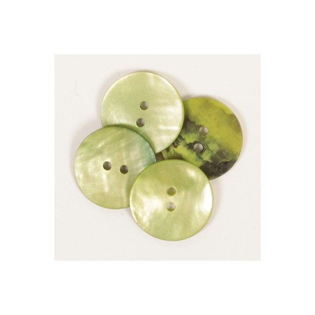 DROPS nööp Ümar (roheline) 20 mm