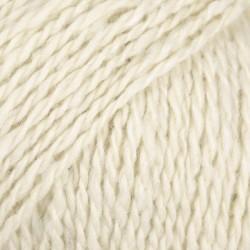 DROPS Soft Tweed naturaalvalge 01