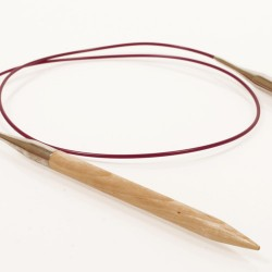 DROPS Basic 40 cm kasepuust ringvardad nr 5,5