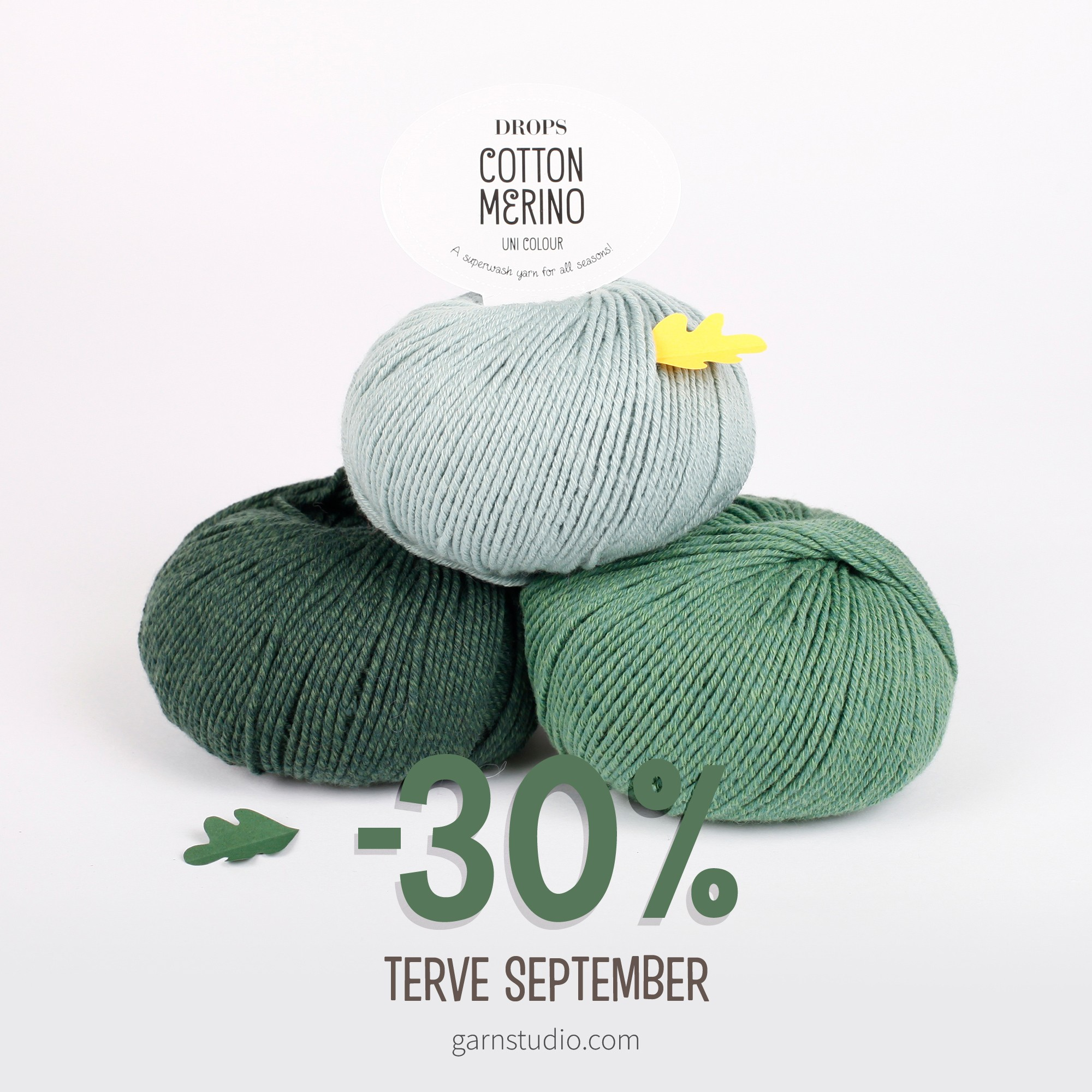 DROPS Cotton Merino-30%